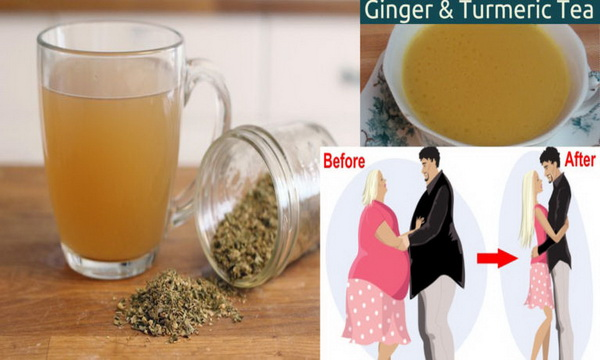 Losing Weight Quickly With This Magic Ginger And Turmeric Tea