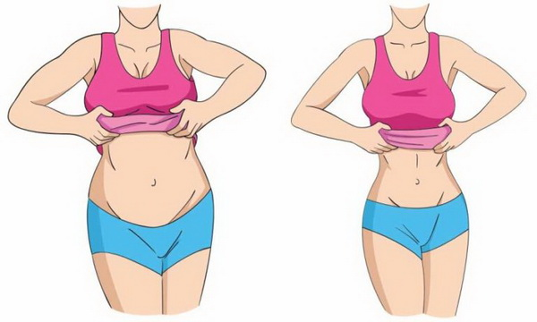 how to make stomach flat in a day