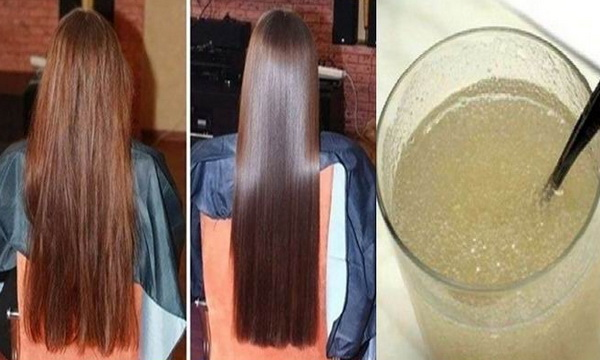 Mask Gelatin To Recover The Damaged Hair | Healthy Food Vision