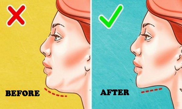 how to lose neck fat men